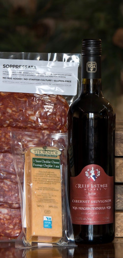 Reif Winery WINE, CHEESE AND CHARCUTERIE - CABERNET SAUVIGNON