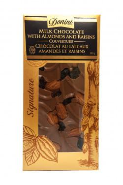 Reif Winery Donini Milk Chocolate Bar - Almond and Raisin