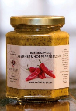 Reif Winery Mustard - Cabernet and Hot Pepper