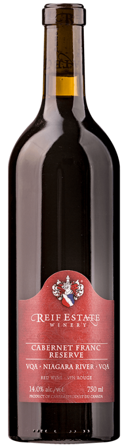 Reif Winery Cabernet Franc Reserve 2017