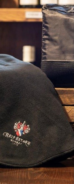 Reif Winery Fleece Blanket