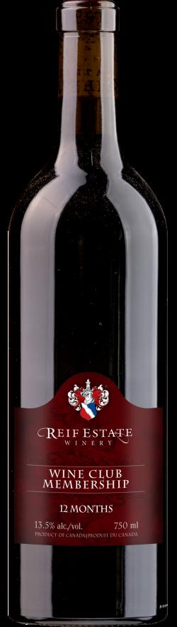 Reif Winery Gold Wine Club Membership - 12 month