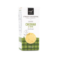 Reif Winery Provision Shortbreads - Cheddar and Thyme