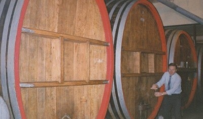 German Barrels In Place