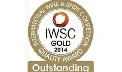 Gold at International Wine and Spirits Challenge