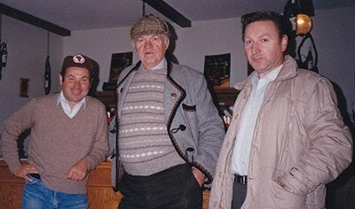 Ewald Reif, John Boese and Gunther Reif (L-R)